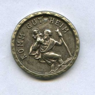 Немецкий медальйон .