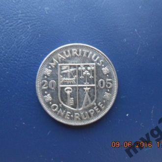 Маврикий, 1 рупия, 2005 г.