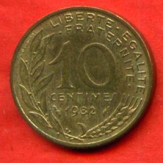 10 сантимов 1982