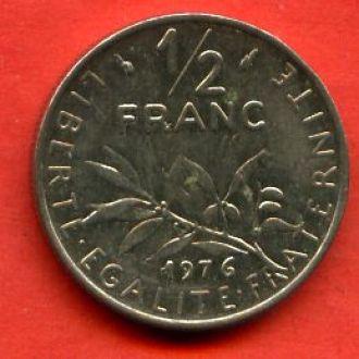 1/2 франка 1976