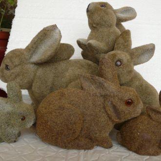 Зайці заяц зайцы флок 6 штук