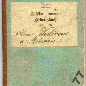 Трудовой паспорт, Чехия Австро-Венгрия 1902 визы