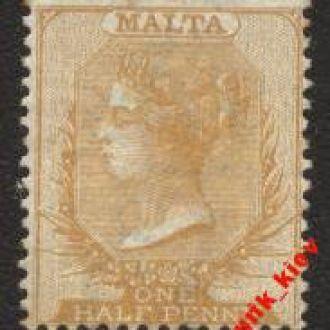 0Мальта  1860г..№ 1 х