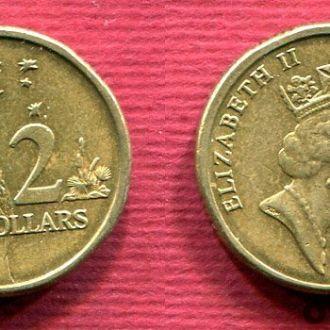 Австралия 2 доллара 1992