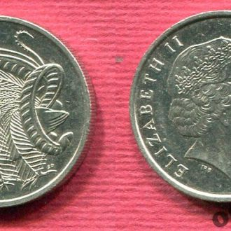 Австралия 10 центов 1999