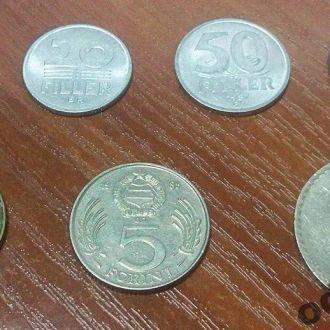 Венгрия Набор из 7 монет советского периода