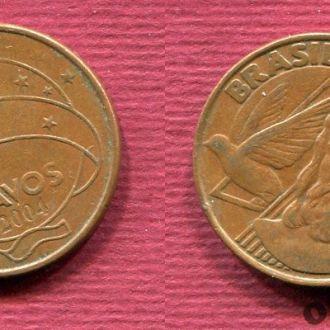 Бразилия 5 сентаво 2004