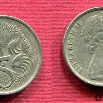 Австралия 5 центов 1966