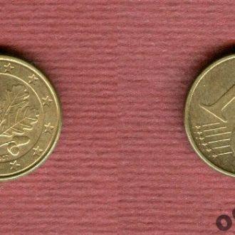 Германия 1 евроцент 2007