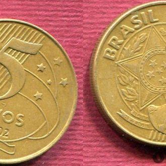 Бразилия 25 сентаво 2002