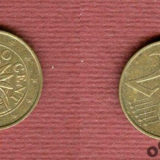 Австрия 2 евроцента 2002