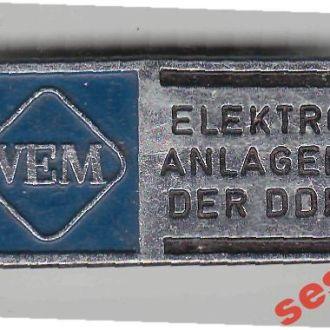 Иностранный значек ГДР
