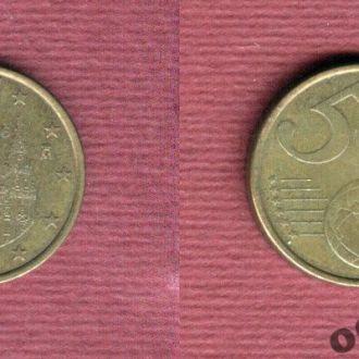 Испания 5 евроцентов 2006