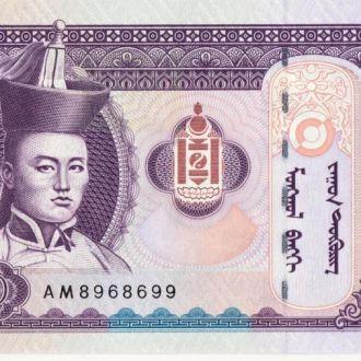 Бони Монголія 100 менге 2008р. UNC
