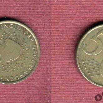 Нидерланды 5 евроцентов 2007