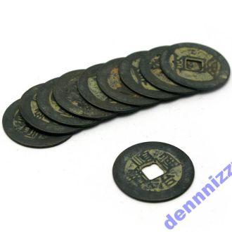 Копия китайской монеты 10 штук, В наличии!