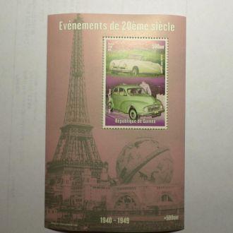 Гвинея автомобили