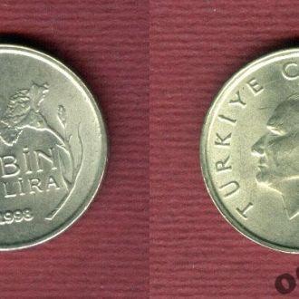 Турция 10.000 лир 1998
