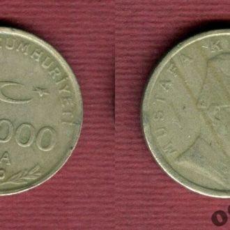 Турция 100.000 лир 2000