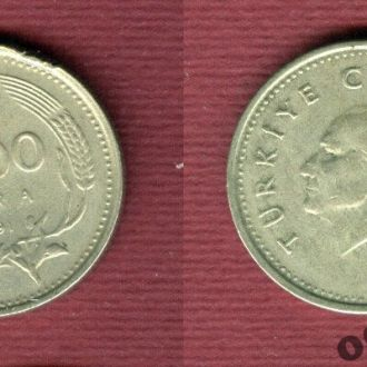 Турция 1000 лир 1991