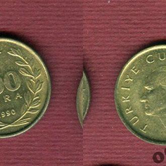 Турция 100 лир 1990