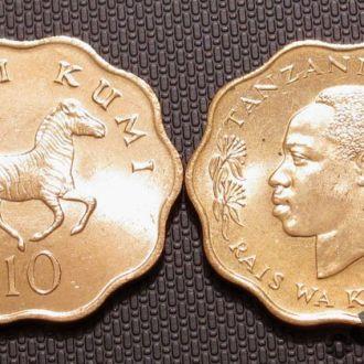 Танзания 10 центов 1984