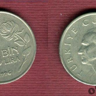 Турция 25.000 лир 1996