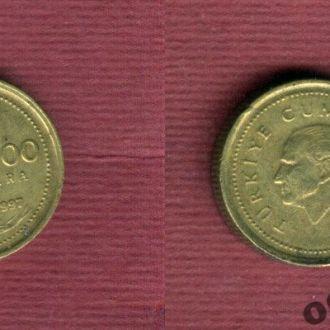 Турция 5.000 лир 1997