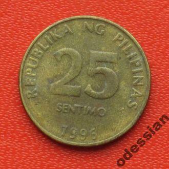 Филиппины 25 сентимо 1996 #4