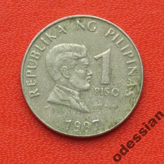 Филиппины 1 писо 1997 #1
