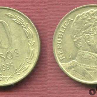 Чили 10 песо 1995