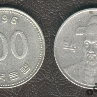 Южная Корея. 100 вон. 1996