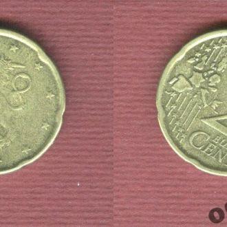 Финляндия 20 евроцентов 2001