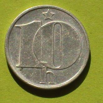 10 Геллеров 1987 г Чехословакия 10 Гелерів 1987 р