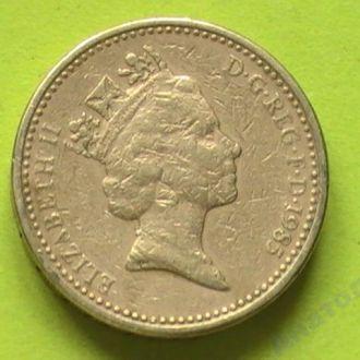 1 Фунт 1985 г Великобритания