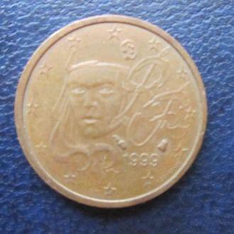 2 евроцента Франция 1999