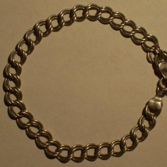 Браслет, серебро, 1950-60ые года.