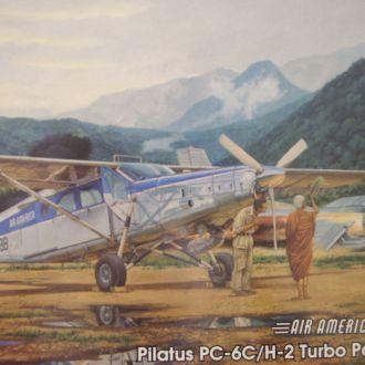 Модель Roden Pilatus PC-6C/H-2 Turbo Porter
