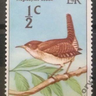 марки Сент-Винсент фауна птицы люкс