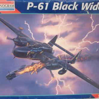 Модель Monogram P-61 Black Widow  7546