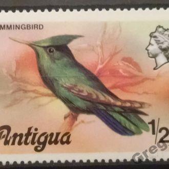 марки Антигуа фауна птицы люкс