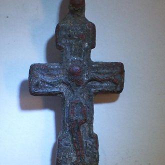 Нательный казацкий крест, Украина, 16-17 век.