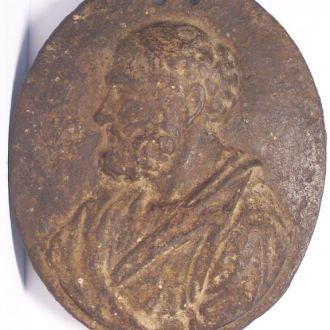 Отец медицины Гиппократ, барельеф, Германия 1790ые