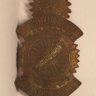 Эмблема, мотоцикл Royal Enfield, пмв Англия 1910ые