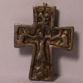 Большой нательный крест, Киевская Русь 12-13 век.