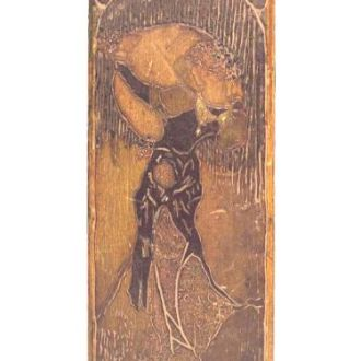 Пенал художника, модерн, Киев, первая мировая 1914
