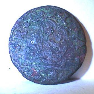 Медная монета, Венеция, 1450-ые