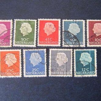 9 марок Нидерланды стандарт