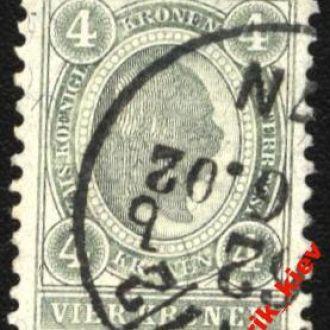 Австрия1899 г. №  83 В гаш