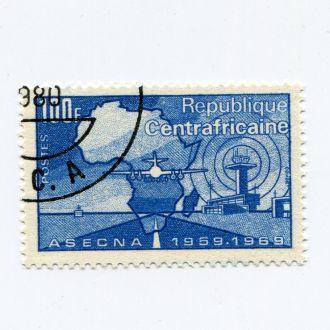 ЦЕНТРАЛЬНОАФРИКАНСКАЯ РЕСПУБЛИКА 1969 АВИАЦИЯ